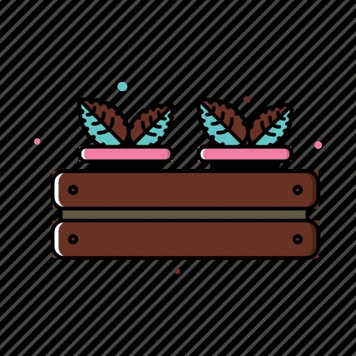 gardening, plants, pot, seedling, spring icon