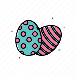 easter, egg, march, spring icon