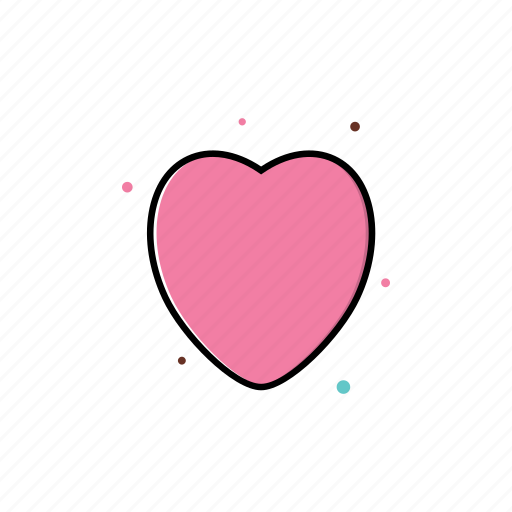 heart, love, romantic, seasonal, spring icon