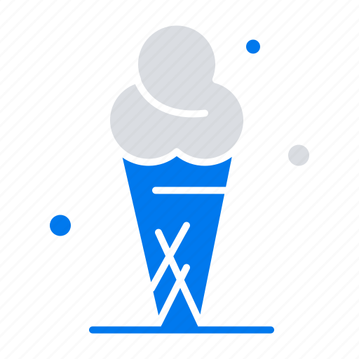 Cone, cream, ice icon - Download on Iconfinder on Iconfinder