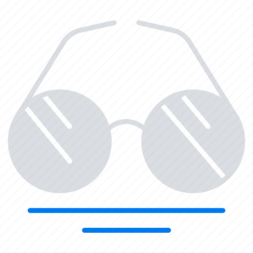 eye, glasses, spring, view icon
