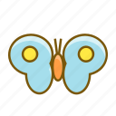 bug, butterfly, insect, spring