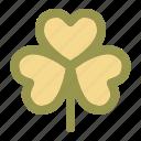 clover, lucky, st patricks day, spring