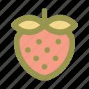 strawberry, berry, sweet, fruit