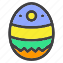 bird, easter, egg, hatch, poultry, season, spring icon