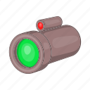 aiming, army, cartoon, optical, sight, sniper, target icon