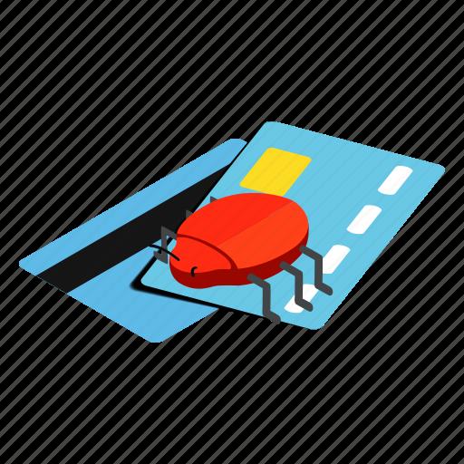 card, credit, credit card, debit, debt, illustration, isometric icon