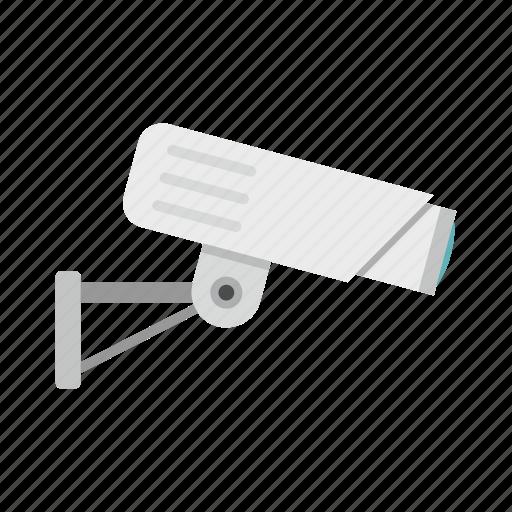 camera, cctv, guard, monitored, private, security camera, video icon