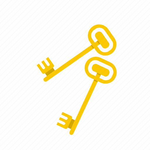 door, home, key, keys, lock, protection, safe icon