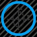 chart, dots, dotted, draw, ellipse plot, elliptic, geometry icon