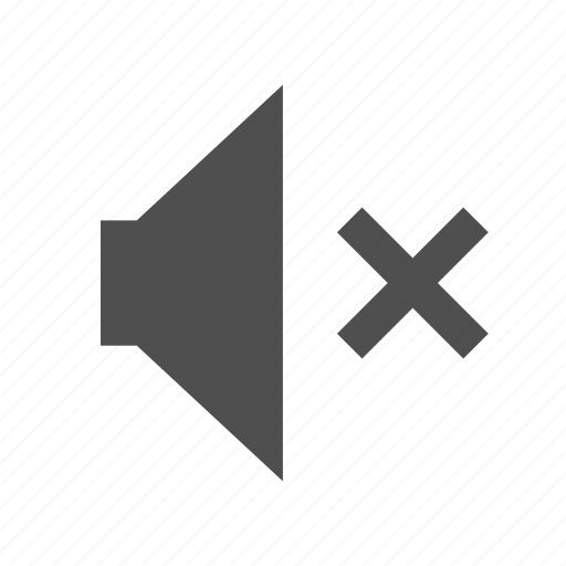 audio, music, mute, play, sound, speaker, volume icon