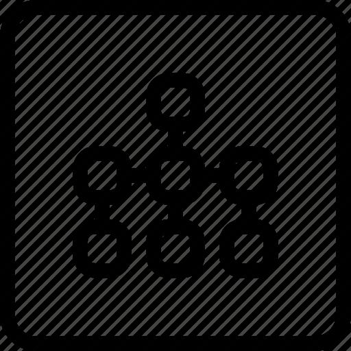 Flowchart, seo, sitemap icon - Download on Iconfinder