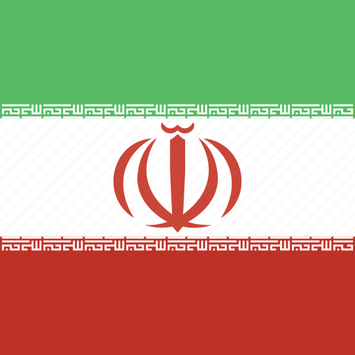 iran, square icon