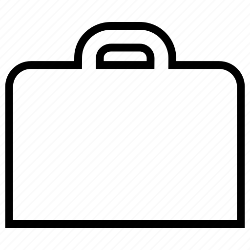 briefcase, business, commerce, ecommerce, empty, sales, suitcase icon