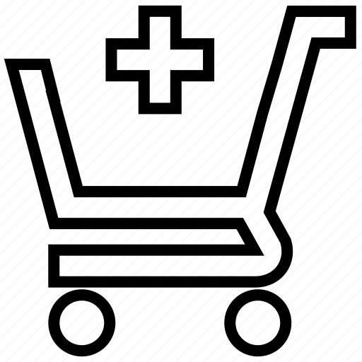 add, add to, buy, cart, ecommerce, plus, shopping icon