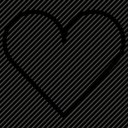 bookmark, favorite, favourite, heart, love, wishlist icon