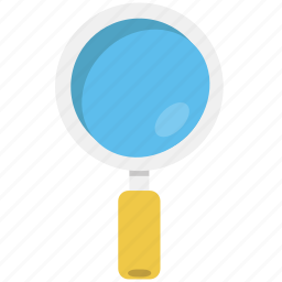 glass, largest, least, lens, magnifying, magnifying glass, squarico icon