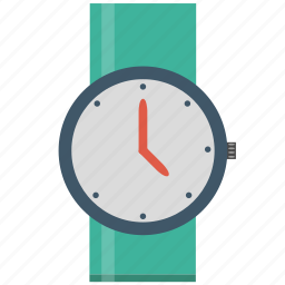 clock, squarico, time, timepiece, watch icon
