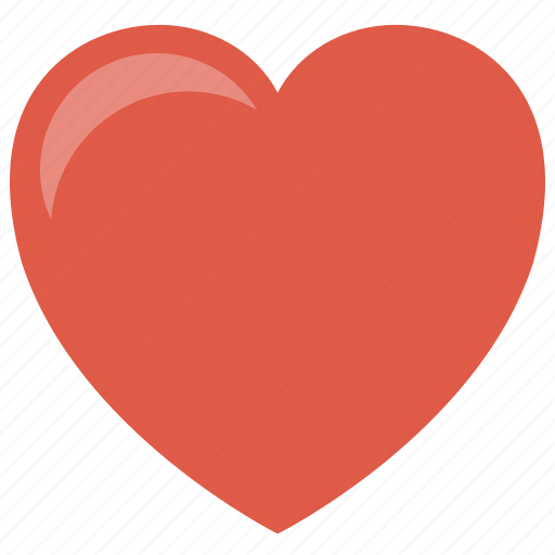 favorite, heart, life, red, squarico icon