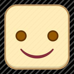 emoji, emotion, expression, face, smile icon
