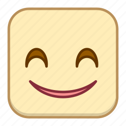 emoji, emotion, expression, face, smile icon
