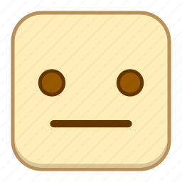 dull, emoji, emotion, expression, face icon