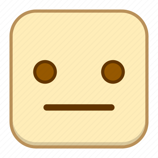 dull, emoji, emotion, expression, face icon