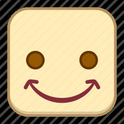 chuckle, emoji, emotion, expression, face icon