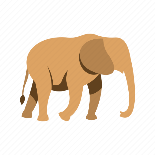 animal, asia, elephant, mammal, nature, safari, wildlife icon