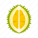 durian, fruit, lanka, sri, thailand, thorn, tropical icon