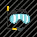mask, scuba, snorkel, sport, summer, underwater, water