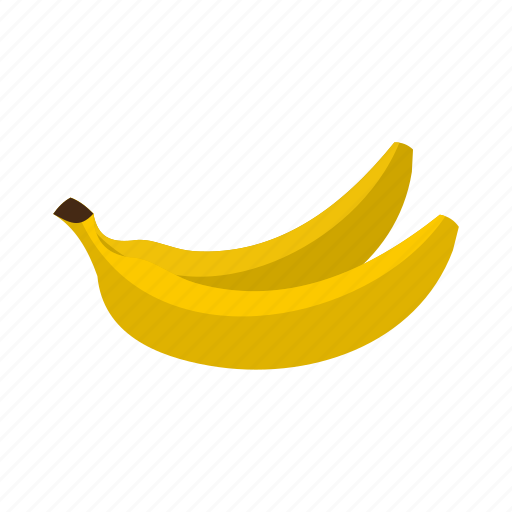 banana, food, fresh, fruit, healthy, ripe, tropical icon