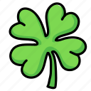 clover, four, irish, leaf, luck, patrick, shamrock