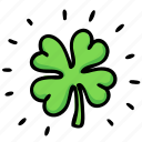 clover, four, irish, leaf, luck, patrick, shamrock icon