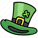clover, hat, holiday, irish, leprechaun, patrick, top icon