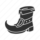 boots, footwear, green boots, leprechaun boots, leprechaun shoe, shoe, st.patrick day icon