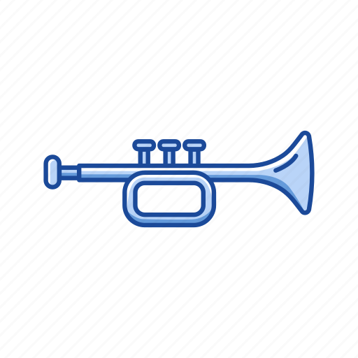 feast, float, horn, jazz, pipe, trumpet icon