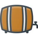 barrel, beer, drink icon