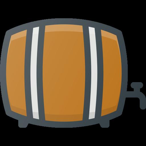 barrel, beer, drink icon