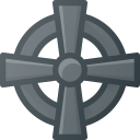 celtic, cross icon
