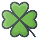 clover, day, patrick, st icon