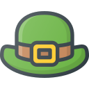 day, hat, leprechaun, patrick, st icon