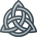 celtic, knot, trinity, triquetra icon