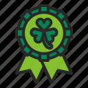 accessories, award ribbon, costume, ireland, ribbon, st.patrick's day icon