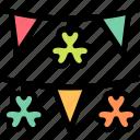 clover, decoration, shamrock, st. patrick's day icon