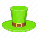 cap, hat, leprechaun, patrick icon