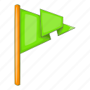 day, flag, green, patrick icon