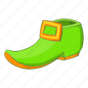 boot, green, holiday, patrick icon