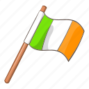 country, flag, ireland, national