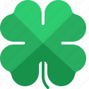 clover, four, leaf, leaves, patrick, shamrock, st patricks day icon